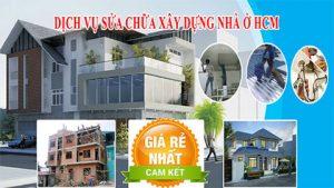 Chuyên dịch vụ sửa chữa nhà ở tại Tphcm, Bình Dương, Đồng Nai