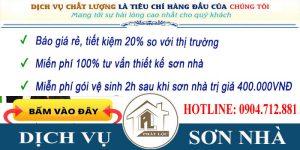Chuyên dịch vụ sơn nhà trọn gói tại Tphcm giá rẻ