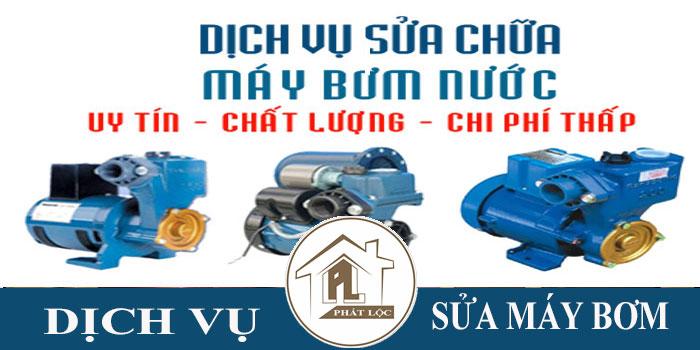 dịch vụ sửa máy bơm nước tại nhà TPHCM uy tín nhất