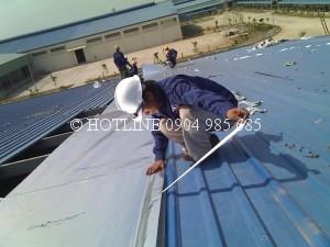 Chuyên chống thấm dột nhà xưởng tphcm - Chống dột mái tôn - Chống thấm tường nhà uy tín