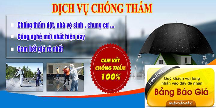 Dịch vụ chống thấm tại Tphcm, Bình Dương, Đồng Nai
