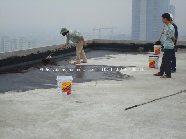 Dịch vụ chống thấm tphcm - Công ty sửa chữa nhà - Sơn nhà - Đóng trần thạch cao - Điện nước tại tphcm