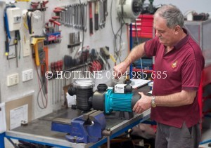Thợ sửa máy bơm nước ở quận 5