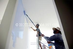 Thợ sơn nước ở quận tân phú