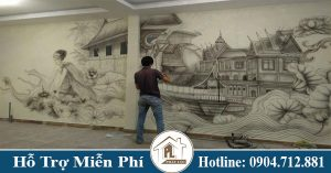 Vẽ tranh tường đẹp tại TPHCM