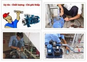 Thợ sửa máy bơm nước ở quận 10