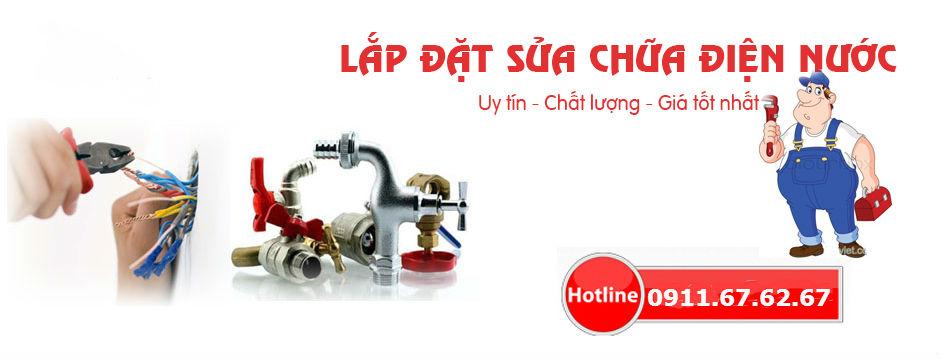 Dịch vụ sửa chữa điện nước trọn gói tại Vũng Tàu