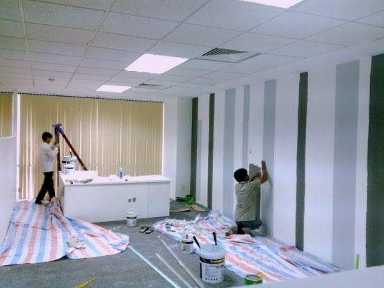 Chuyên sơn sửa chữa nhà ở tại TPHCM