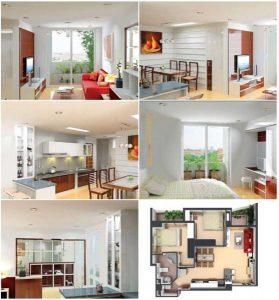 Sửa chữa nhà chung cư, thiết kế nhà chung cư có diện tích nhỏ