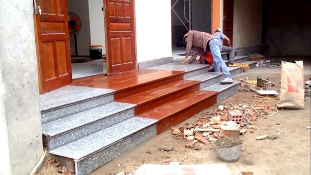 Thợ chuyên sửa chữa đá hoa cương
