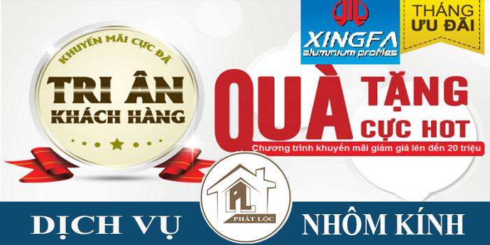 Báo giá cửa nhôm Xingfa cao cấp giá rẻ
