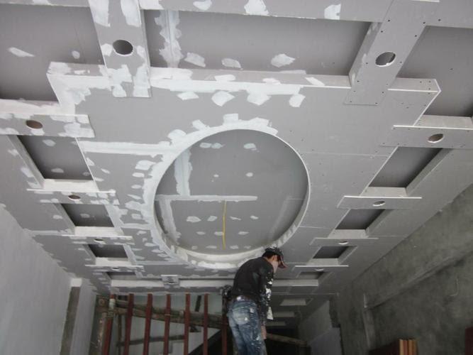 Thợ chuyên nhận sửa chữa trần thạch cao