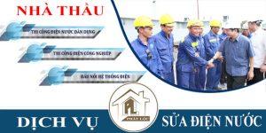 Thợ chuyên nhận thi công điện nước giá rẻ