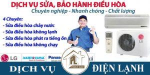 Thợ chuyên sửa chữa điều hòa tại nhà giá rẻ