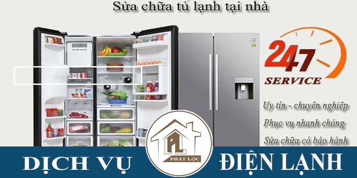 Thợ chuyên sửa chữa tủ lạnh tại nhà giá rẻ
