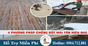 Hướng dẫn cách chống dột mái tôn