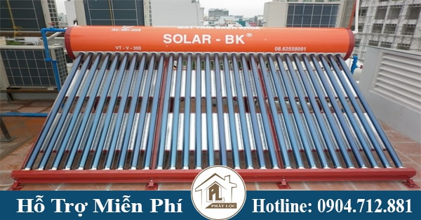 Báo giá máy nước nóng năng lượng mặt trời solarbk