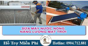 Thợ sửa chữa máy nước nóng năng lượng mặt trời