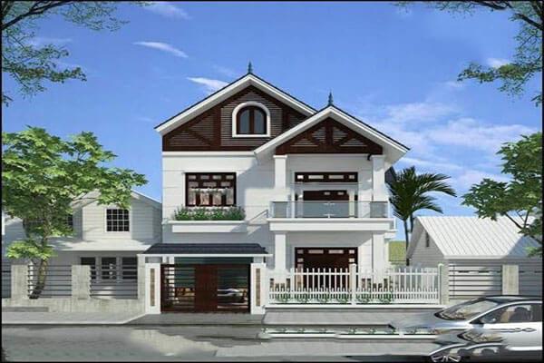 Nhà mái thái với thiết kế cổ điển